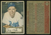 69742 1952 Topps 1 Andy Pafko Red Back Dodgers-gd