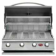 Cal Flame Gourmet Series Built-in 4-burner Gas Bbq Grill Silver