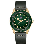 Rado Captain Cook Automatic Bronze 42mm Green Dial Mens Watch R32504315
