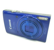 Canon Powershot Elph 190 Is Blue 20.0mp W/ 10x Optical Zoom And Wi-fi Camera Only