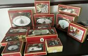 Spode Christmas Tree Platters Plates Tray Teaspoons Bowl And More