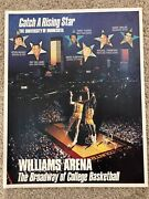 Vintage Williams Arena Broadway Of College Basketball Poster Minnesota Gophers