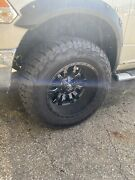 20x12 Fuel Sledge Wheels With 325/60r20 Falken At3w Used Like New5x139.7/5x150