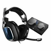 Astro Gaming Ps4 Headset A40tr + Mixamp Pro Tr Mix Amplifier With Wired 5.1ch 3.