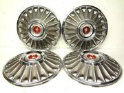 Ford 1967 Mustang Set 4 Wheel Covers 14 Hubcaps Hubcap 67 Gt Cover