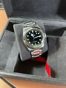 Tudor Black Bay 41 M79540 Black Dial Menandrsquos Watch With Box And Extra Bands