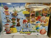 Fisher Price Advent Calendar Little People Large 24 Piece Xmas New Sealed