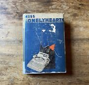 Miss Lonelyhearts By Nathanael West 1st Editionandnbsp1933 Greenberg Edition Rare