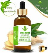 Pure Herbs Ginger 100 Pure And Natural Zingiber Officinale Essential Oil