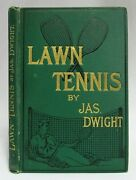 Antique 1886 Lawn Tennis Playing Manual James Dwight Sports And Athletics Book