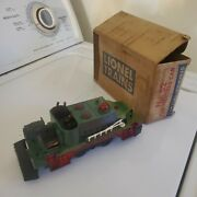 Lionel Fire Fighting Car Motorized Unit No. 52-repainted With Original Box