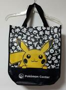 Overseas Pokandeacutemon Center Limited Official Bag Picachu Pattern Difficult To Obtain