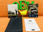 13-16 Land Rover Defender Owners Manual 90 110 130 Soft Hard Wagon Pickup 2dr 4d