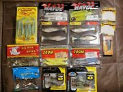 Freshwater Fishing Soft Plastic Lot With A Whopper Plopper 90