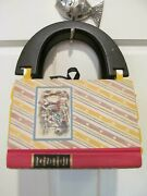 Suzabelle Vintage Book Purse Through The Looking Glass -alice In Wonderland 90