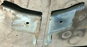 1965 1966 1967 1968 Ford Mustang Convertible Rear Seat Steel Panels Cleaned Nice