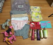 Mixed Lot Victoria's Secret Lotions Pink Dog Backpack Love Spell Panties