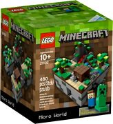 Never Opened Lego Minecraft Micro World 21102 Retired. Great Xmas Gift
