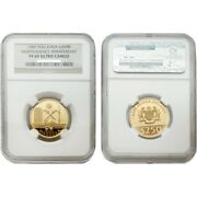 Malaysia 1987 Independence Anniversary 250 Ringgit Gold Coin Ngc Pf69 Sku 1288