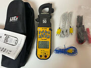 Uei Dl429b True Rms Digital Clamp Meter W/ Wireless And Differential Temperature
