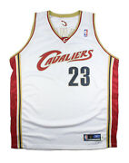 2003-04 Rookie Lebron James Cavaliers Game Issued Team Issued Jersey Union Tag