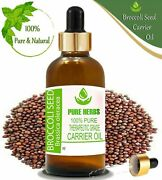 Pure Herbs Broccoli Seed 100 Pure Natural Brassica Oleracea Carrier Oil