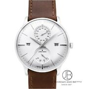 Junghans Meister Agenda Automatic Menand039s Watch 027/4364.01 New