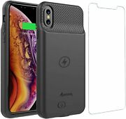 Iphone Xr Battery Case Ultra Slim Portable Protective Extended Charger Cover Wit