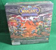 World Of Warcraft Miniatures Game Core Set Deluxe Edition New Sealed 6 Figures
