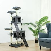 Cat Tree House Condo Furniture Pet Tower Scratching Post Kitten Climbing Toy New