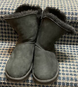 Uggs Boots F19016g Size 6 Black