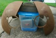 1941 Dodge D19 Front Fenders Nos Mopar Solid And Straight. 901810 And 901811