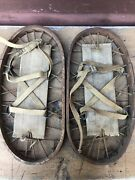 Wwll Stamped England Military Bear Paw Snow Shoes