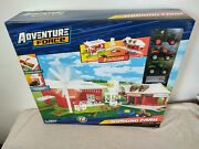 Adventure Force Working Farm Playset 72 Pieces Toy Ages 3+ New Free Shipping