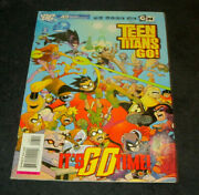 Teen Titans Go 43 First Printing July 2007 Dc Comic Book Itand039s Go Time