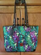 Disney Dooney And Bourke Rare Tinkerbell Tote