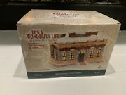 Enesco It's A Wonderful Life Village- Bedford Falls Post Office With Box Mint
