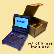 Gameboy Advance Sp - Refurbished W/ Ips Screen And Charger Included