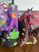 Sideshow - Batman Animated Series Bruce Timm - Joker And Harley Quinn - Exclusive