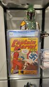 Captain Marvel Adventures 21 Cgc 3.5 Feb 1943 Famous Wwii Cover Very Rare