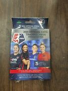 Mint Nwsl 2021 Official Trading Cards Premier Edition Hanger Box Womens Soccer