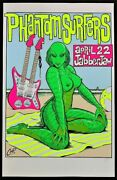 Phantom Surfers Poster Jabberjaw 1995 Limited Numbered Edition Signed By Coop