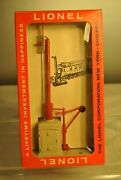 Mint Lionel 161 Mail Pickup Set With Cellophane Box And Complete Packet