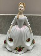 Royal Doulton Peggy Davies 6 Tall 1992 Old Country Roses Hn3482 Mint