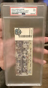 Miguel Cabrera Major League Debut Full Ticket And 1st Hr Psa 9-pop 2