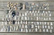 Rare Old Indian Artifacts Spear Arrow Head Heads Projectiles Tools Lot Nj Tn