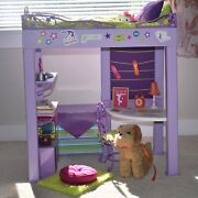 American Girl Mckenna 2012 Goty, Doll, Loft Bed, Clothes, And Accessories Lot