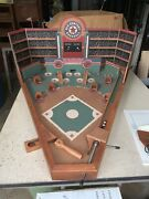 Old Century Baseball Game All Wood Construction Classic Pinball Style - With Box