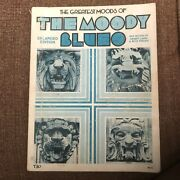 The Greatest Moods Of The Moody Blues Songbook Nights In White Satin Guitar