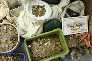 1000 Wheat Cents - Unsearched Pennies, Steel Cent - Old Teens, 20s, 30s 40s 50s